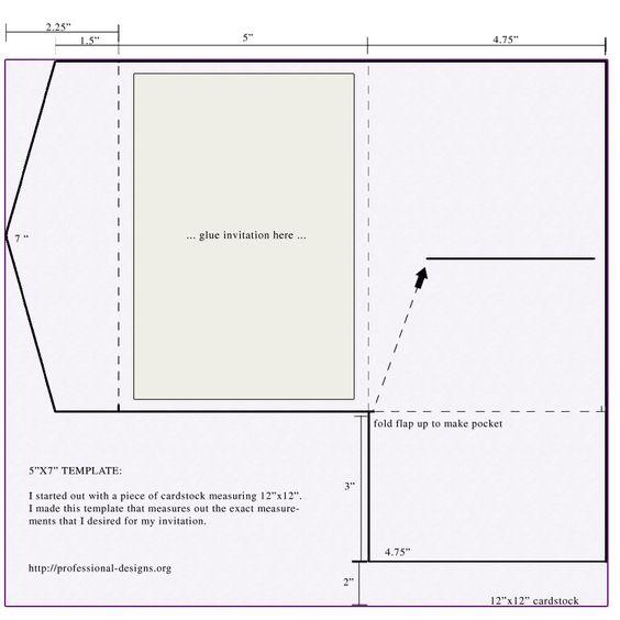 Wedding Tri Fold And Invitation Envelopes On Pinterest