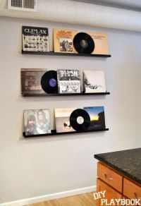 Ryan's Record Wall | Vinyls, Pictures and The family
