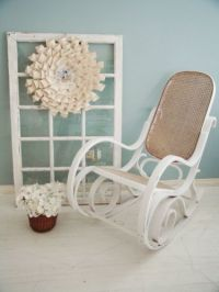 Rocking chairs, Wicker and Canes on Pinterest