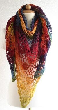 Festival Shawl ~ free pattern  | CRAFTS - Crochet and ...
