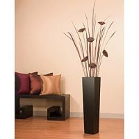 Tall Floor Vase with Lotus/ Tall Grass | Lotus, Search and ...