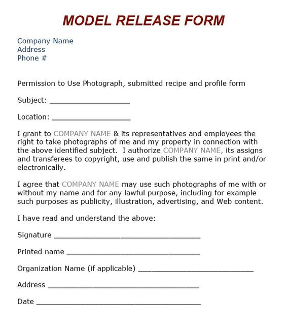 Hurricanes L - Photography Pinterest - vehicle release form