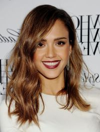 Jessica Alba Hair Color 2015 Medium Hairstyles with Brown ...