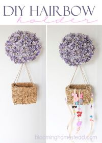 Bow holders, Diy hair bows and Hair bow holders on Pinterest