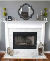 Colors for bathrooms, Fireplaces and Fireplace makeovers