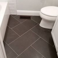 Ideas for small bathrooms, Bathroom floor tiles and ...
