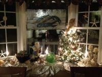 Christmas Bay Window Decorating Ideas - Halloween F