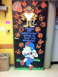 My homecoming door decoration. | Homecoming | Pinterest ...