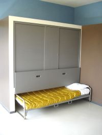 hideaway bed in le corbusier house | Kids' Rooms: Bunk ...