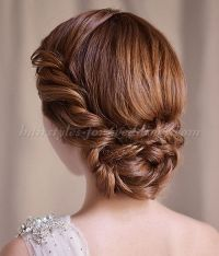 chignon, low chignons, low bun hairstyles for brides ...
