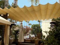 DIY Retractable Pergola Cover | retractable fabric on ...