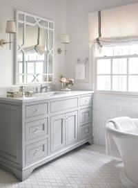 Friday's Favourites | Grey cabinets, Arabesque tile and ...