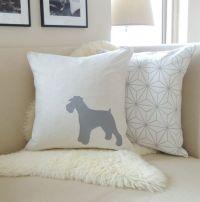 Miniature Schnauzer Pillow Cover - Standard, Mini or Giant ...