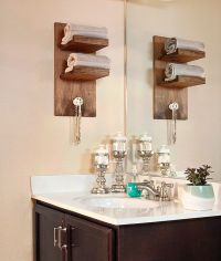 3 Easy DIY Projects for a Small Bathroom Upgrade | Towel ...