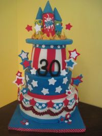 Southern Blue Celebrations: 4TH OF JULY CAKES & COOKIES