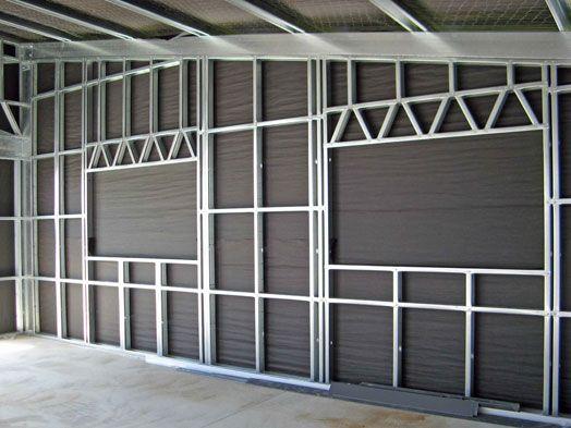 Metal Stud Framing | Metal Studs | Pinterest | Studs And Metals