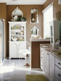 Baths with Stylish Color Combinations | Cabinets, Love the ...