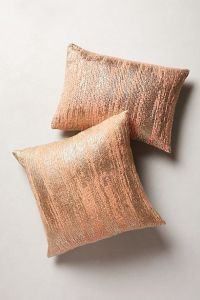 Plaited Metallics Pillow | Copper, Throw pillows couch and ...