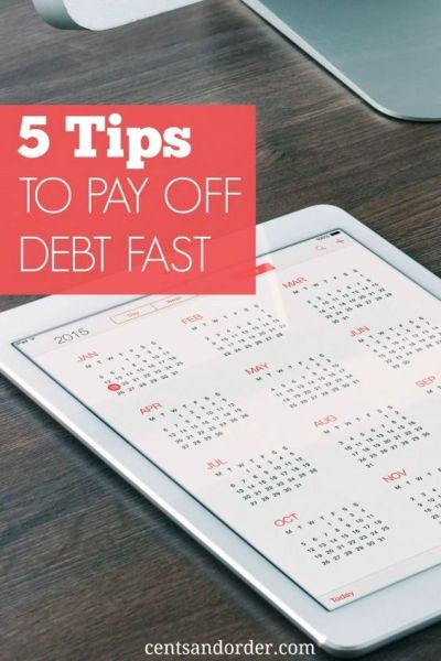 Five Tips To Pay Off Debt Fast   To be, Student loans and December
