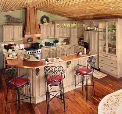 Do It Yourself Glazing Of Kitchen Cabinets To Give Them An
