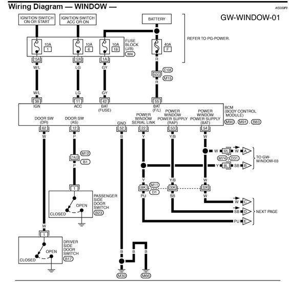 85 chevy truck power window wiring diagram