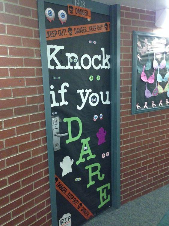 college dorm room door decorations