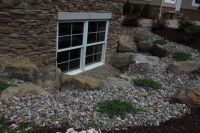 landscaping around basement windows