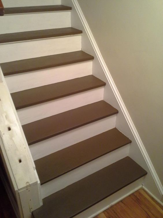 How To Paint Pine Kitchen Cabinets White Woodnet Forums: Paint Or Stain/dye Pine Stair Treads