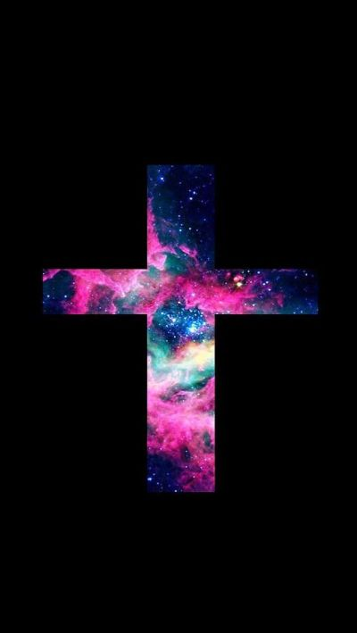 Iphone Wallpaper Cross sign | iphone wallpaper | Pinterest | Galaxies, iPhone wallpapers and Signs
