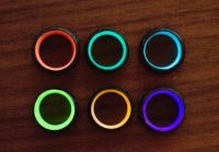 Carbon 6 Forged Carbon Fiber Glow Rings by John Paul ...