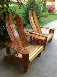 Ski-daddle Water Ski Outdoor Furniture - Recycled Water ...
