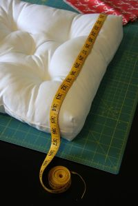 Cushion tutorial, Chair cushions and Recover a chair on ...