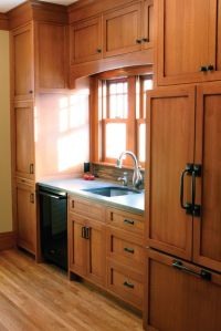 Oak cabinet kitchen, Oak cabinets and Hardware on Pinterest