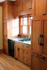 Oak cabinet kitchen, Oak cabinets and Hardware on Pinterest