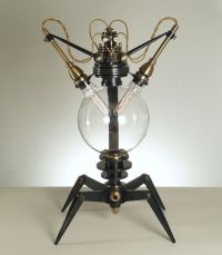 Nixie tube, Lamps and Punk on Pinterest