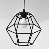 Make a trendy geometric pendant light fixture for under ...