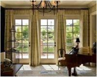 Door window treatments, French doors and Window treatments ...