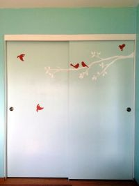 redo of old sliding closet doors | DIY | Pinterest ...
