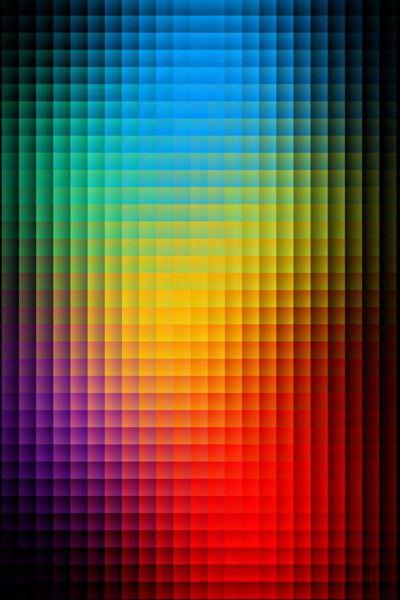 Blurred Color Pixels iPhone wallpaper | iPhone Wallpapers ...