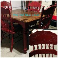 General finishes, Comfy chair and Milk paint on Pinterest
