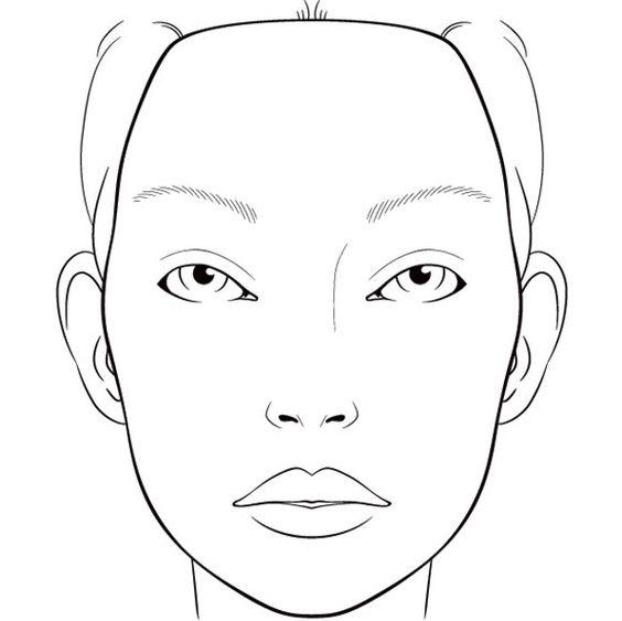 botox facial diagram