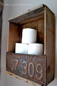 Cute Primitive Outhouse Bathroom Decor