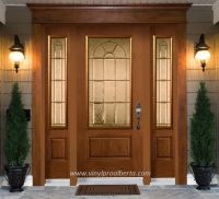 Cheap Entry Doors with Side Lights | Fiberglass Entry Door ...