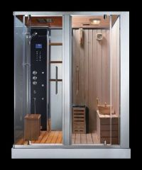 ADS 180 Steam Shower Sauna Combination - Sauna Shower ...