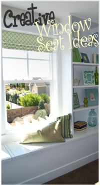 Creative Window Seat Ideas - | A well, Creative and Guest ...