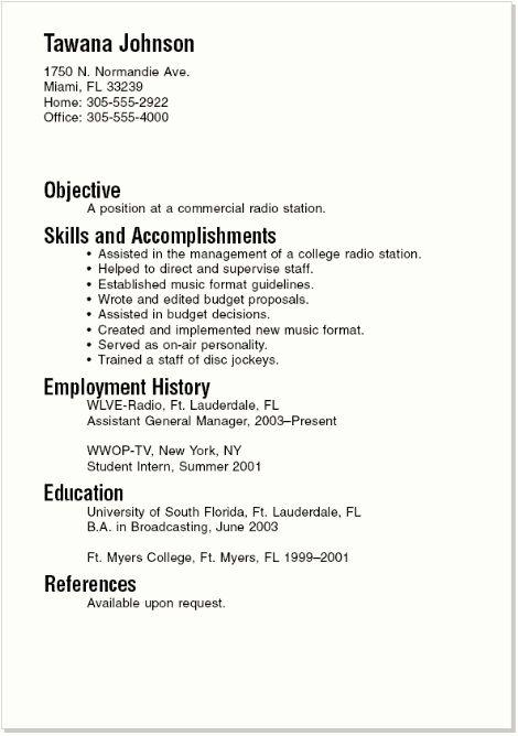 boston college career center sample resumes