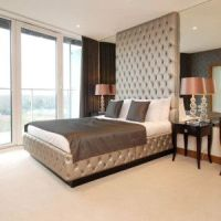 Modern bedroom furniture, Tufted bed and Modern bedrooms ...