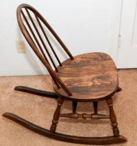 Image detail for -... Antiques): Antique Rocking Chair ...