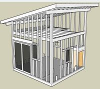 Interior Shed Roof Loft | How to Build a Small Shed ...
