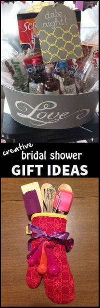 Creative Bridal Shower Gift Ideas | Bridal Shower Gift ...